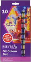 Reeves Oil Paint Tubes -10 Colors