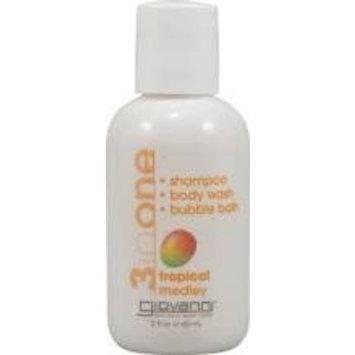 Giovanni Cosmetics, Inc. Giovanni 3-In-One Wash Grapefruit Sky - 2 Fl Oz