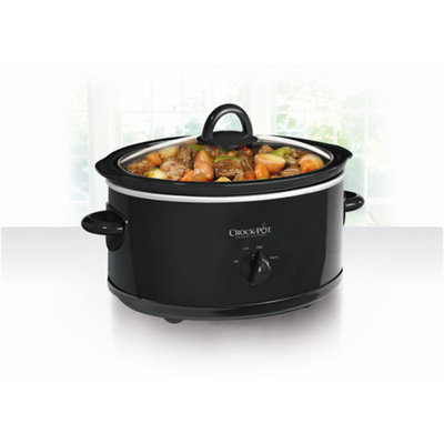 Crock-Pot 7-Quart Slow Cooker, Black