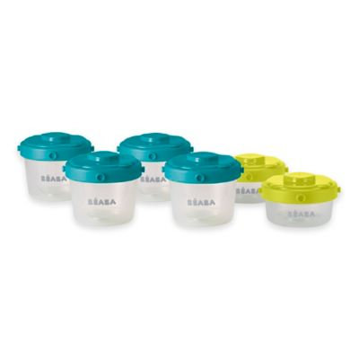 Infant BEABA 'First Stage' Silicone Spoons (4-Pack)