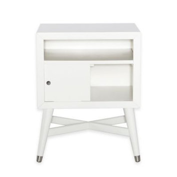 Westwood Design Dwell Studios Mid Century Nightstand - French White