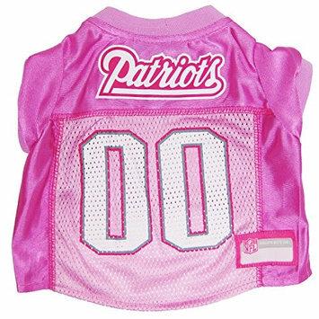 Doggie Nation.com New England Patriots Pink Dog Jersey Large