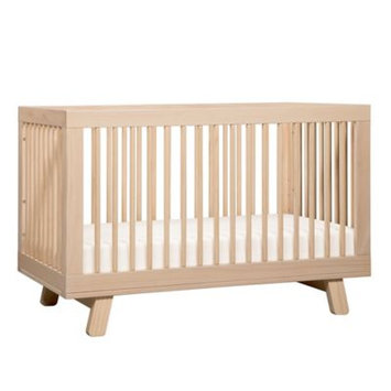 Million Dollar Baby 3-in-1 Convertible Crib with Toddler Rail, Washed Natural