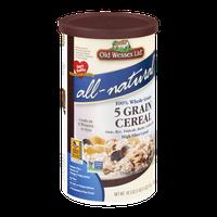 Old Wessex Ltd. All-Natural 5 Grain Cereal