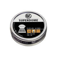 Umarex RWS Superdome 2317379 Field Line 14.5 Grain Air Gun Pellets, 0.22 Caliber, Silver