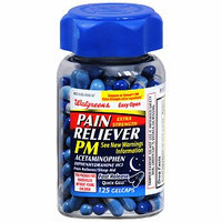Walgreens Pain Reliever PM Extra Strength Quick Gels