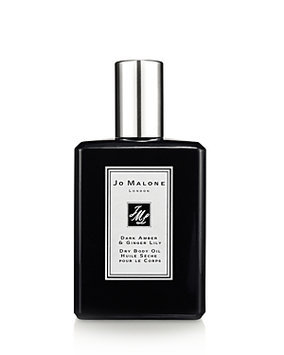 Jo Malone Body Oil Dark Amber & Gin Dry Body Oil, 100ml