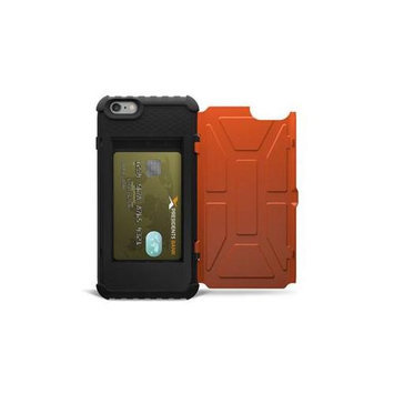 Urban Armor Gear IPH6/6SPL-N-RST Outland - Back cover for cell phone - soft rubber - for Apple iPhone 6 Plus 6s Plus