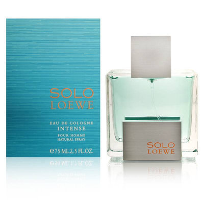 Loewe Solo Intense Eau De Cologne 75ml for Him