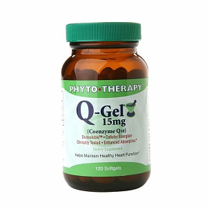 PHYTO-THERAPY Q-Gel 15mg Coenzyme Q10