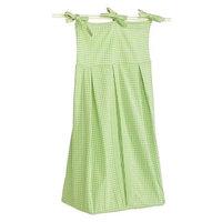 Tadpoles Basics Green Gingham Diaper Stacker