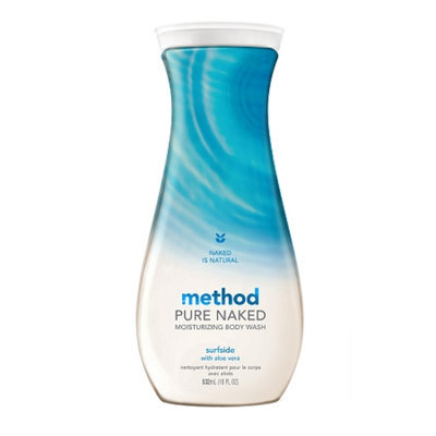 method Pure Naked Moisturizing Body Wash