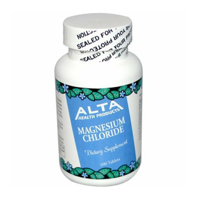 Alta Health Products Magnesium Chloride 100 Tablets