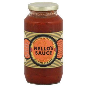 Nello's Gourmet Pasta Sauce Hot Pepper 25 oz
