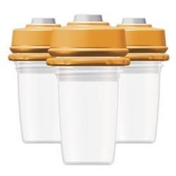 DexBaby 5 oz. Milk Bank Storage Bottles