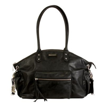 Kalencom Corporation Kalencom New York Diaper Bag - Vegan Black