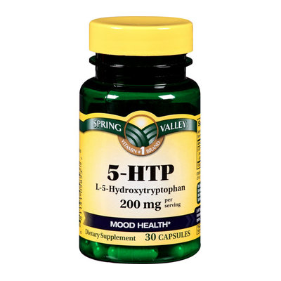 Spring Valley 5-HTP L-5-Hydroxytryptophan Capsules