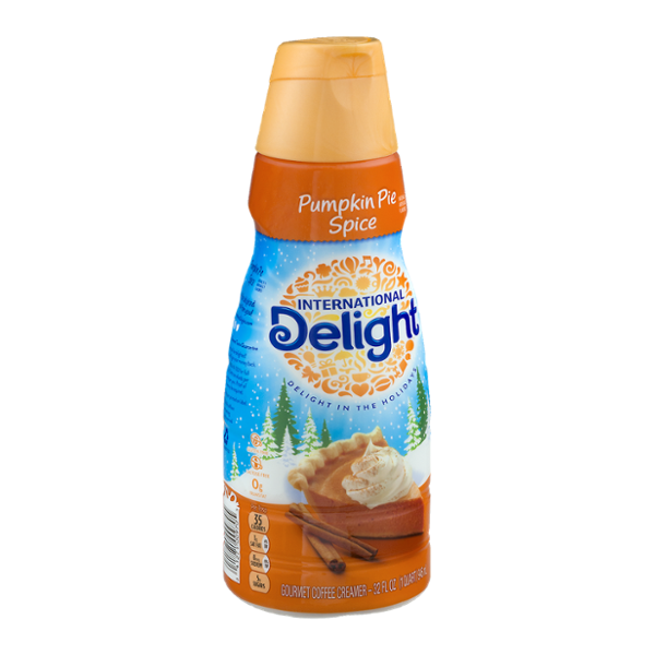 International Delight Creamer Pumpkin Pie