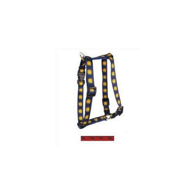 Yellow Dog Design H-BLL101SM Black Lab Roman Harness - Small/Medium