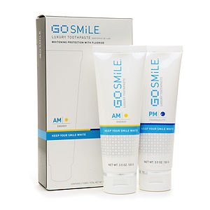 Go SMiLE AM Energy and PM Tranquility Luxury Toothpaste Duo