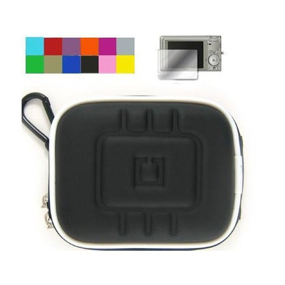 VangoddyTM (Eva Purple + Screen Protector) Sony Cybershot Cases Premium Quality Carrying Case