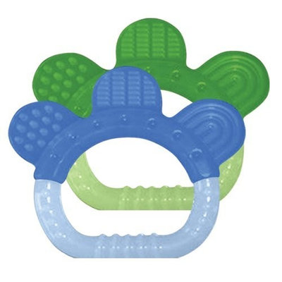 green sprouts 2 Pack Sili Paw Teether, Boy (Discontinued by Manufacturer)