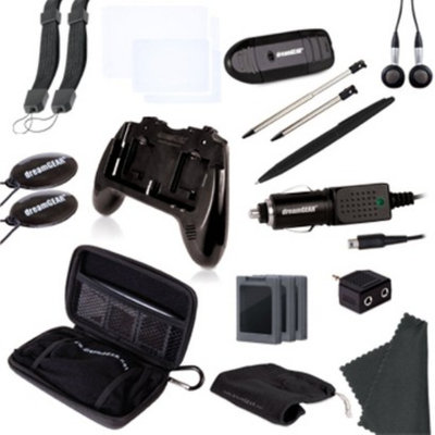 DreamGear 20 in 1 Essentials - Black (Nintendo 3DS)