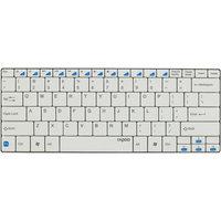 Shenzhen Rapoo Technology Rapoo E6100 Wireless Compact Ultra-slim Keyboard, White