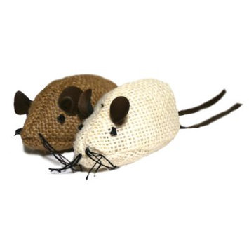 Rosewood Jolly Moggy Mice, Pack of 2
