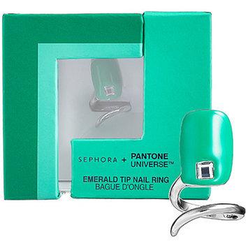 SEPHORA + PANTONE UNIVERSE™ Emerald Tip Nail Ring Emerald