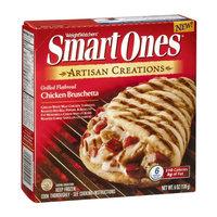 Weight Watchers Smart Ones Artisan Creations Grilled Flatbread Chicken Brushetta