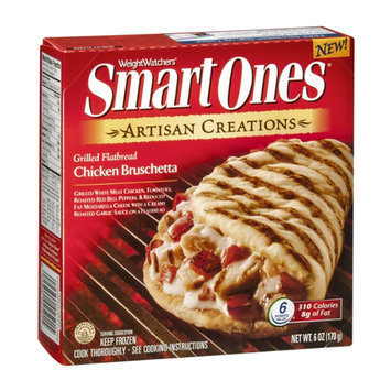 Smart Ones Artisan Creations Grilled Flatbread Chicken Brushetta