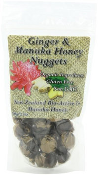Pacific Resources Nugget Candies, Ginger and Manuka Honey, 100-Gram