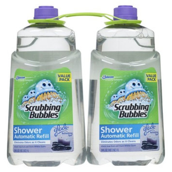 Scrubbing Bubbles Automatic Shower Cleaner Refills Twin Pack