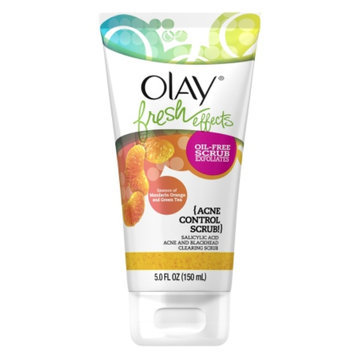 Olay Fresh Effects Acne Control Scrub Salicylic Acid Acne and