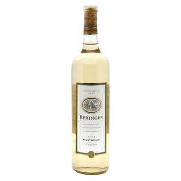Beringer Pinot Grigio California Wine 750 ml