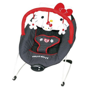 Baby Trend Baby EZ Bouncer - Hello Kitty Classic Dot