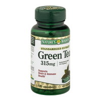 Nature's Bounty Herbal Capsules Green Tea Standardized Extract 315 mg - 100 CT