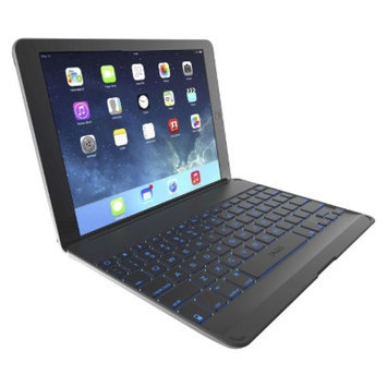 ZAGG Keyboard Cover for iPad Tablets - Black (ZKFHCBK-T)