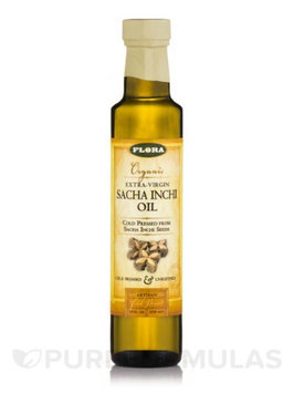 Sacha Inchi Culinary Oil Flora Inc 8.5 oz Liquid
