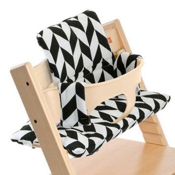 Stokke Tripp Trapp Cushion - Basic - Black Chevron