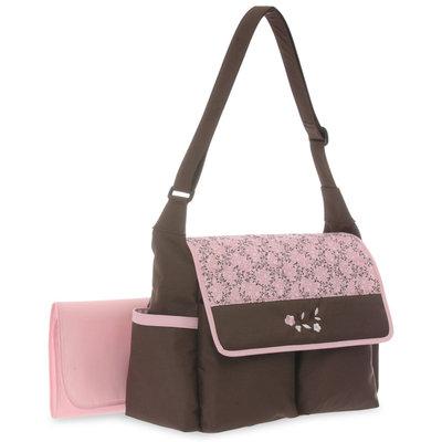 Stevens Baby Boom Ltd. Baby Boom Floral Flap Diaper Bag - STEVENS BABY BOOM LTD.