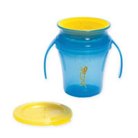 Wow Baby 7 Ounce Spill-Free Drinking Cup - Blue