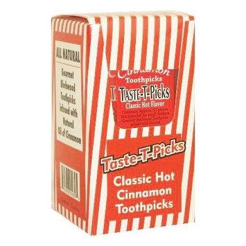 Candy Crate Taste-T-Picks Cinnamon Toothpicks, 12-Count Package (Total 180 Picks)