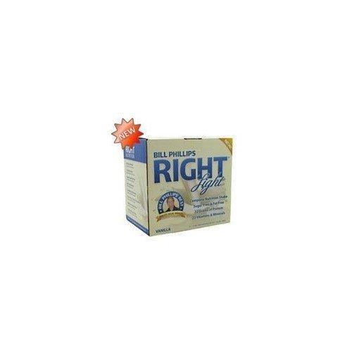Bill Phillips Right Nutrition RIGHT Light Nutrition Shakes Vanilla -- 1.4 oz Each / Pack of 12
