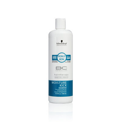 Schwarzkopf BC Bonacure Moisture Kick Shampoo for Normal to Dry Hair