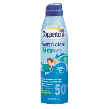 Coppertone Wet 'n Clear Kids Continuous Spray