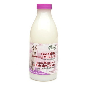 Alpen Secrets Goat Milk Foaming Milk Bath Powder