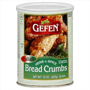 Gefen Breadcrumb Flavored 15 OZ -Pack Of 12