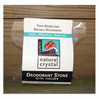 Lafes Natural Body Care Deod Crystal Lrg W/dish 6 Oz By Lafe's Natural Body Care (1 Each)